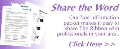 Share TheRibbon.com with doctors and nursing home professionals.